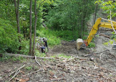 Construction d'un murgier